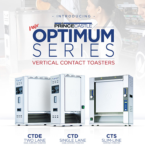 Optimum Series Vertical Contact Toasters